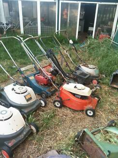 Clear out of old lawnmowers/ Lawn Mowers/ Mowers from $10.00