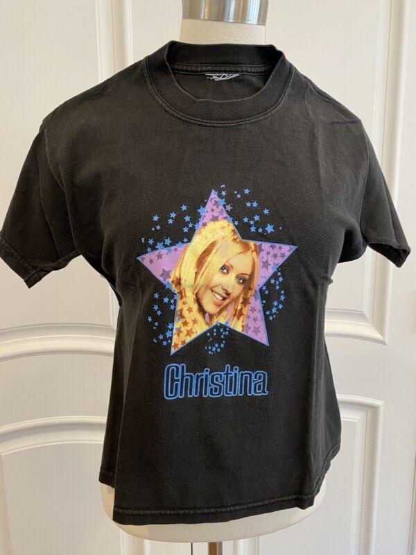 Authentic 90s Christina Aguilera Tour Tshirt SET OF 2