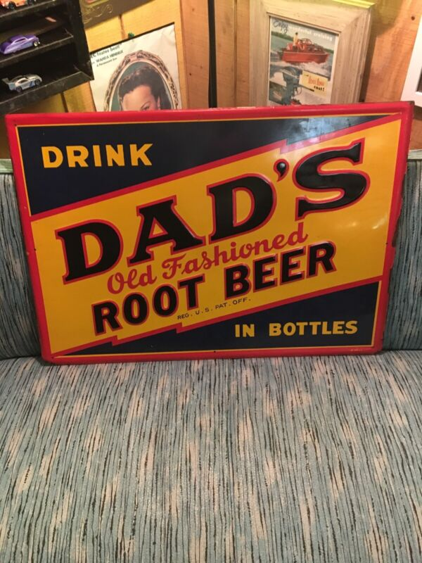 Dads Root Beer Sign