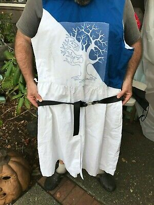 Holy Grail Costumes (monty python MEDIEVAL TUNIC holy grail quest bedevere sir shirt halloween)