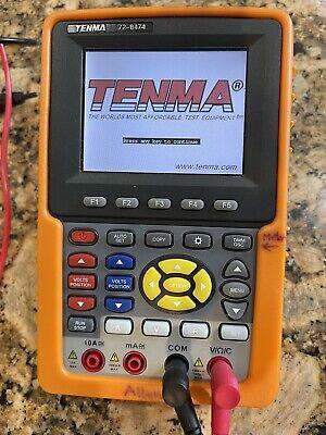 Tenma 72-8474 Portable Oscilloscope 02 Ch. 100mhz - Rarely Used