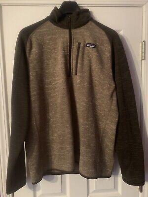 Patagonia Better Sweater Men's Fleece XL 1/4 (Best Waterproof Windbreaker Jacket)
