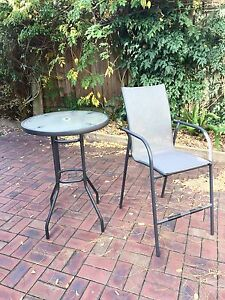"""10 piece """"Bar Table"""" Outdoor Setting Blackburn North Whitehorse Area Preview"""