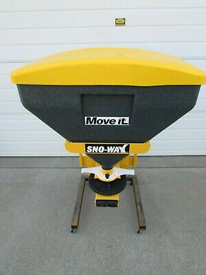 New Snoway Sno-way Poly Tailgate Salt Spreader Kit 6 Cubic Ft - 2 Receiver