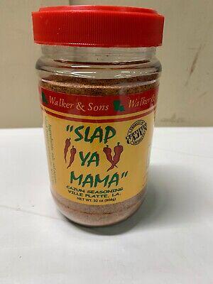 Slap Ya Mama Cajun Seasoning, 2 Pound Tub 32oz Exp 03/2022 New Sealed