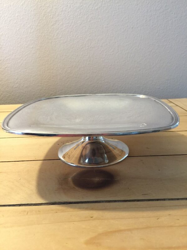 Vintage Reed & Barton Silverplate Cake Stand