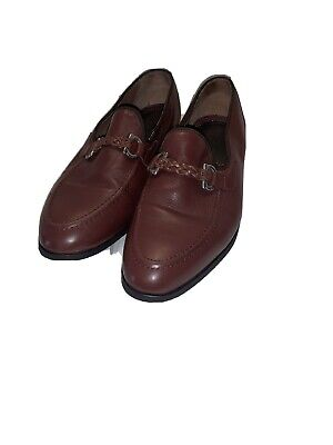 House of Hounds Men's Size EURO 43 Brown Bar Loafers Dress Shoes
