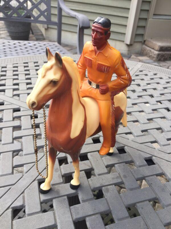 Hartland TONTO Horse & Rider figure THE LONE RANGER Jay Silverheels