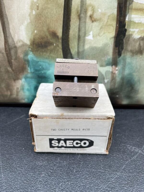 SAECO 458 G0B DOUBLE CAVITY WITH ORIGINAL BOX