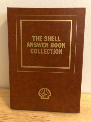 Vintage Shell Answer Books by Shell Oil Complete- 1-32 Booklets