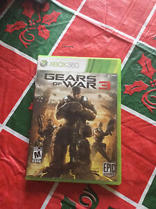 Xbox 360 Gears of wars 3