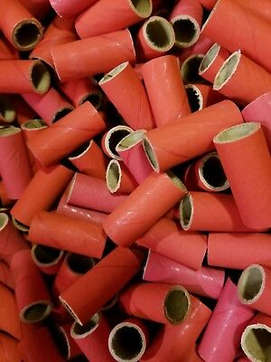 50 M-80 Fireworks Salute Tube Kit Firecrackers + 100 End Plugs/Caps
