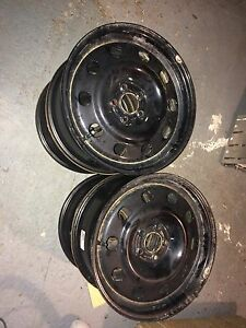 "4 -17"" Steel  wheels with air pressure sensors  St. John's Newfoundland image 2"