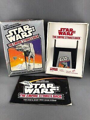 Star Wars The Empire Strikes Back Atari 2600 Complete