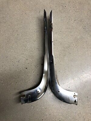 BMW E10 1600 2002 2002tii US chrome rear bumper left and right ends