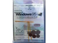 Microsoft Windows 95 OEM Program License /& Certificate SEALED HP PC