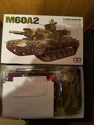 Panzermodellbausatz 1:35 Tamiya M60A2 Vollständig OVP