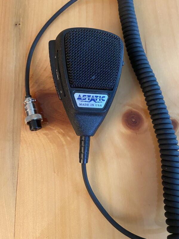 New Astatic model 575-m6 Amplified CB Hand Held Mic