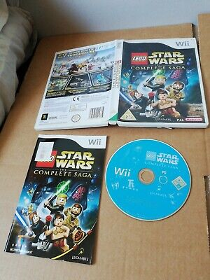 Lego Star Wars: The Complete Saga (Nintendo Wii, 2007).  u