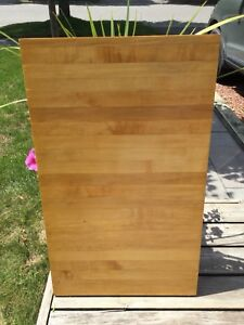 Solid Maple Butcher block table top