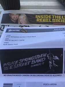 Premium Bruce Springsteen Tickets 25 Jan Concert Floreat Cambridge Area Preview