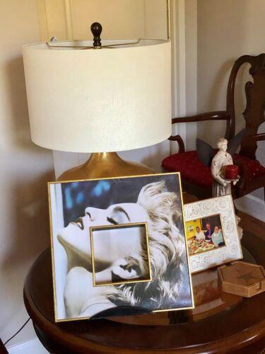 "Rare Madonna True Blue Import Canada 12"" LP Record CD Holder Art MUST SEE!!!"