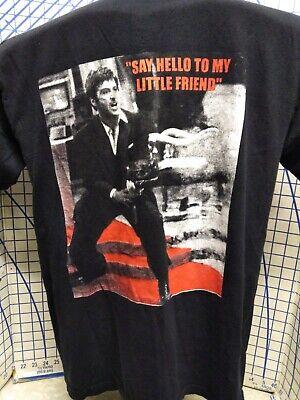 Vintage ScarFace Say Hello to my little friend Shirt Medium Tornado active wear