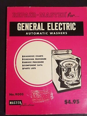 Repair Master for General Electric Automatic Washers # 9003 General Electric Washer Repair