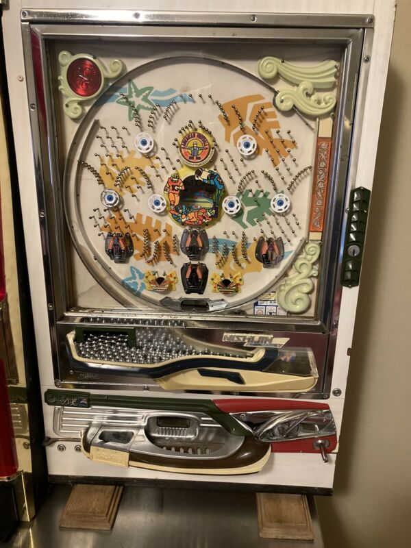 RARE NFL FOOTBALL PACHINKO Nishijin B Super DX Japanese Gambling Pinball Machine