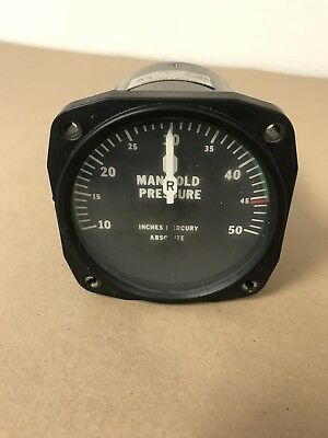 Piper PA-31 United Instrument Manifold Gauge PM-42-11 6022 (1595) for sale  Lakeland