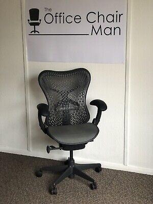 Herman Miller Mirra 1 Triflex Back Executive Task Chair Front Tilt &...