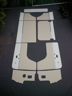 VW KOMBI 68 to 79 interior panels door cards Volkswagen deluxe