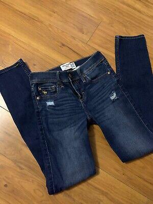 Abercrombie Kids Girls Skinny Jeans Size 11/12 Slim