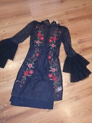 'Keep Sake' The Label Lace Mini Dress Size 8