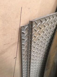 Stainless Steel Checker Floor Plate