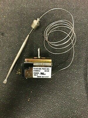 Vulcan Hart 00-419999-00002 Control Thermostat 400f Fits Gas Fryers