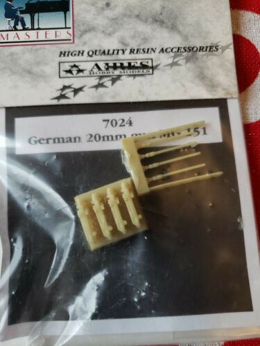 Masters 1 72 Resin Accessories Lot Includes 7017, 7021, 7024  - $8.00