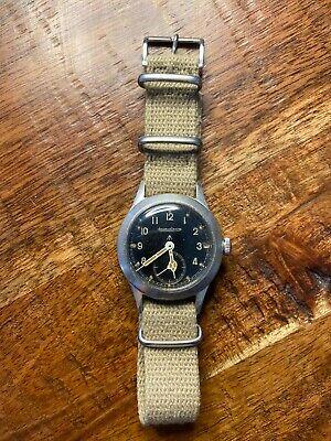 Jaeger LeCoultre Dirty Dozen British Military Watch WWW W.W.W Very Rare 1945 WW2