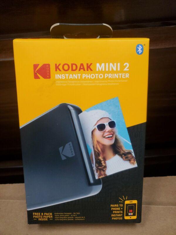 Kodak Mini 2 Instant Photo Printer MP2-B BRAND NEW