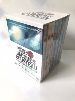 22 Discs DVD Box Set THE UNDERSEA WORLD OF JACQUES COUSTEAU Deluxe...