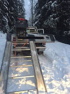 Sled deck and 2 super clamps 1200obo