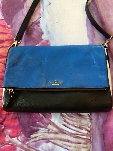 Kate Spade cross-body purse - Blue