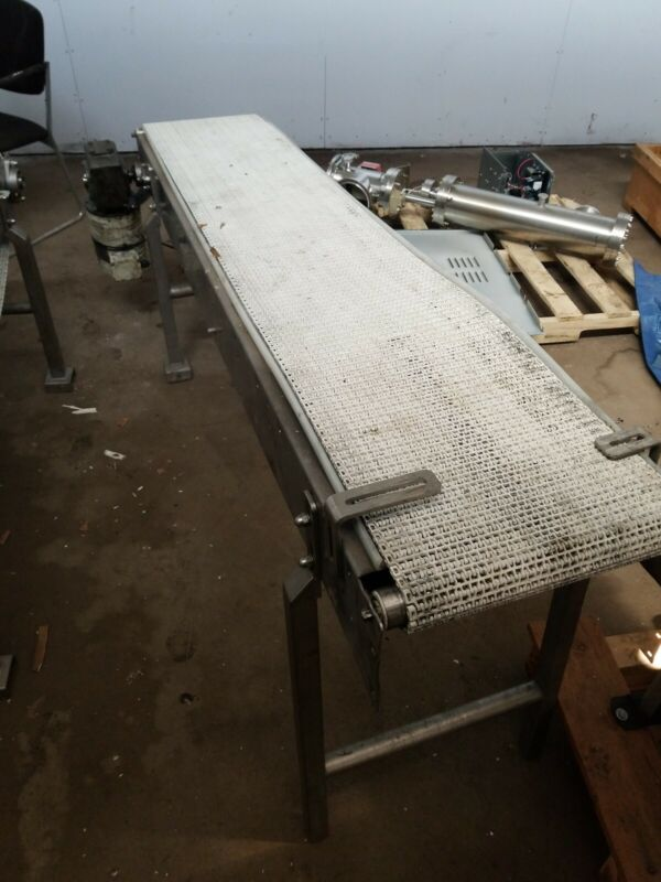 "Conveyor 14"" X 78"" Stainless Steel conveyor"