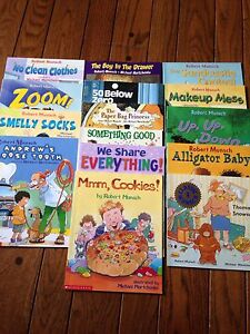 15 Robert Munsch kids books.