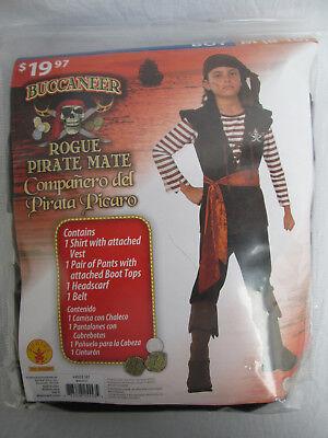 TE MATE Boys M (8-10) Halloween Dress-Up Costume NEW (Rogue Pirate Kostüm)