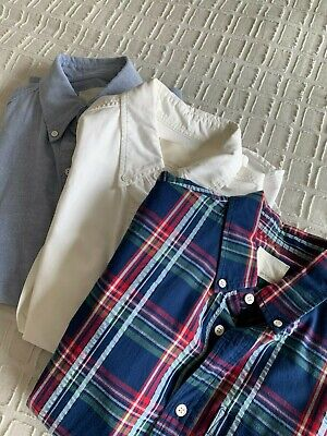 Never Worn XS Designer Band of Outsiders Button Down Long Sleeved Oxford Shirts