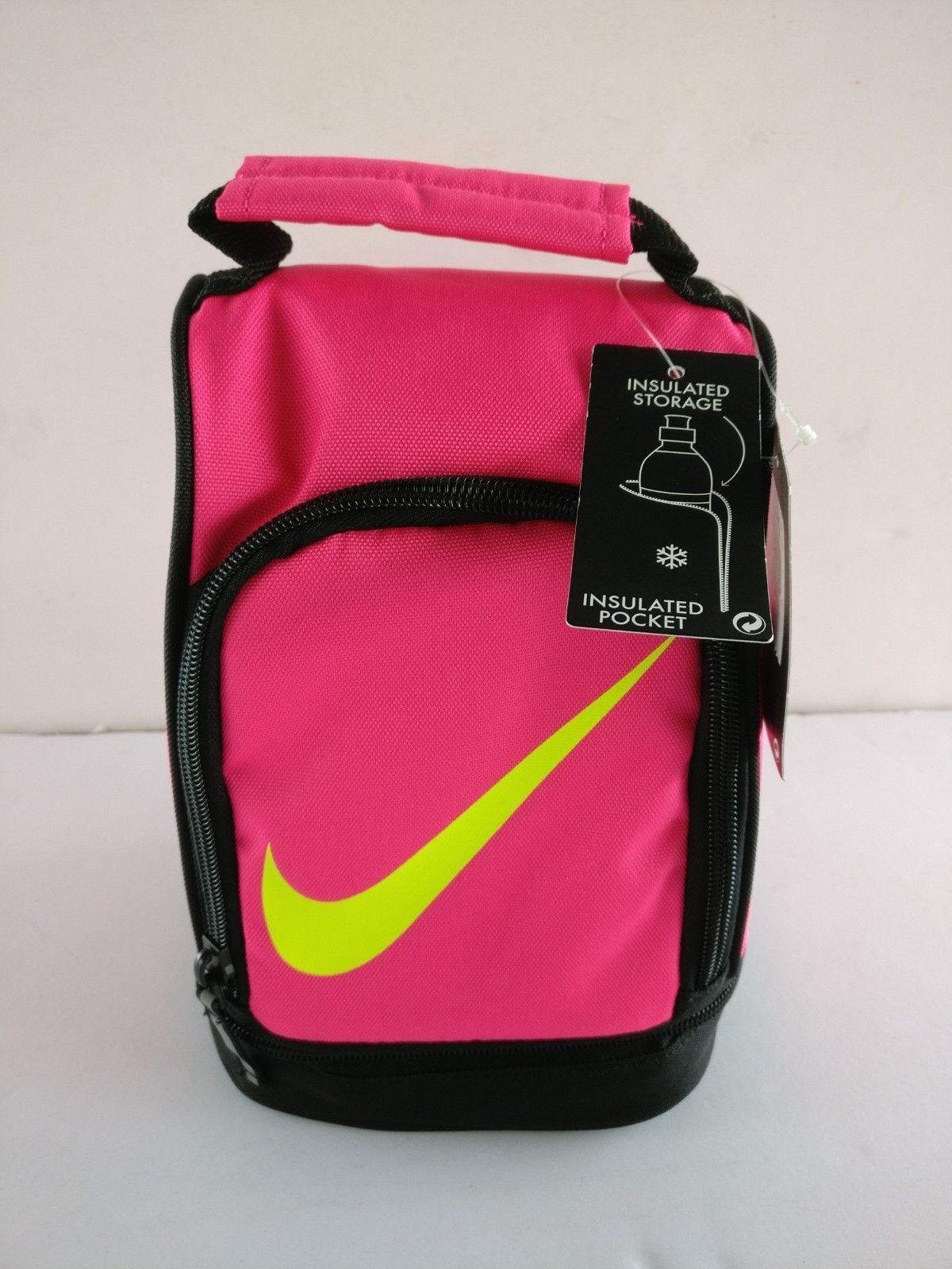 a718d756b36e Nike Insulated Dome Tote Lunch Bag 9a2546 - HYPER Pink for sale ...