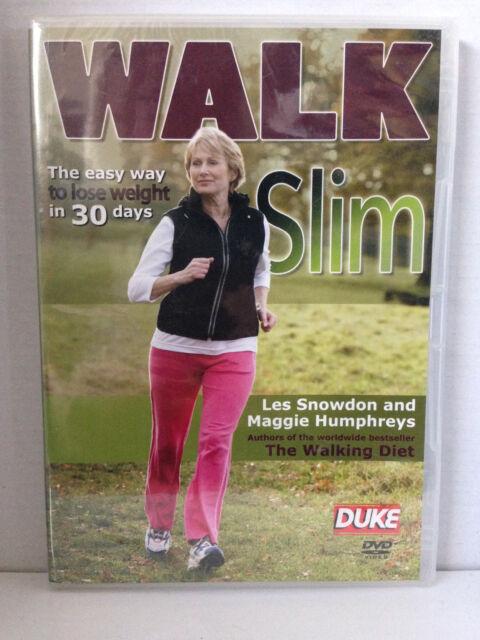 WALK SLIM with LES SNOWDON & MAGGIE HUMPHREYS ~ BRAND NEW/SEALED DVD ~ FREE POST