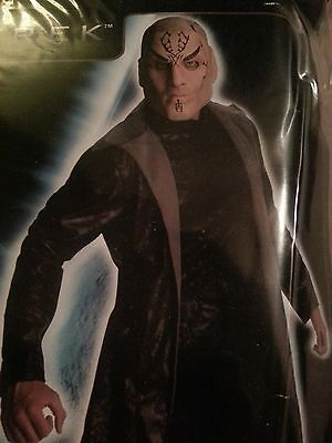 Star Trek Movie Nero Deluxe Adult Costume Standard and XL size HALLOWEEN NEW $80 - Movie Star Costumes Halloween
