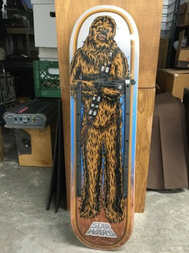 Santa Cruz Star Wars Chewbacca Collectible Skateboard Deck